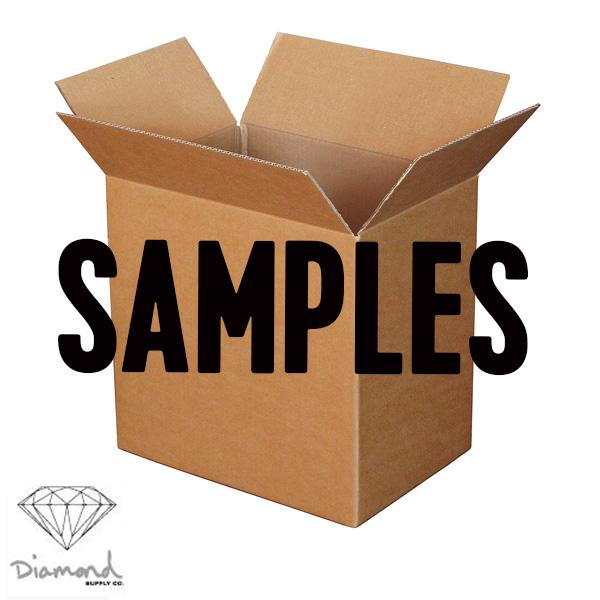 DIAMOND SAMPLE SHOE SET D - Click to enlarge