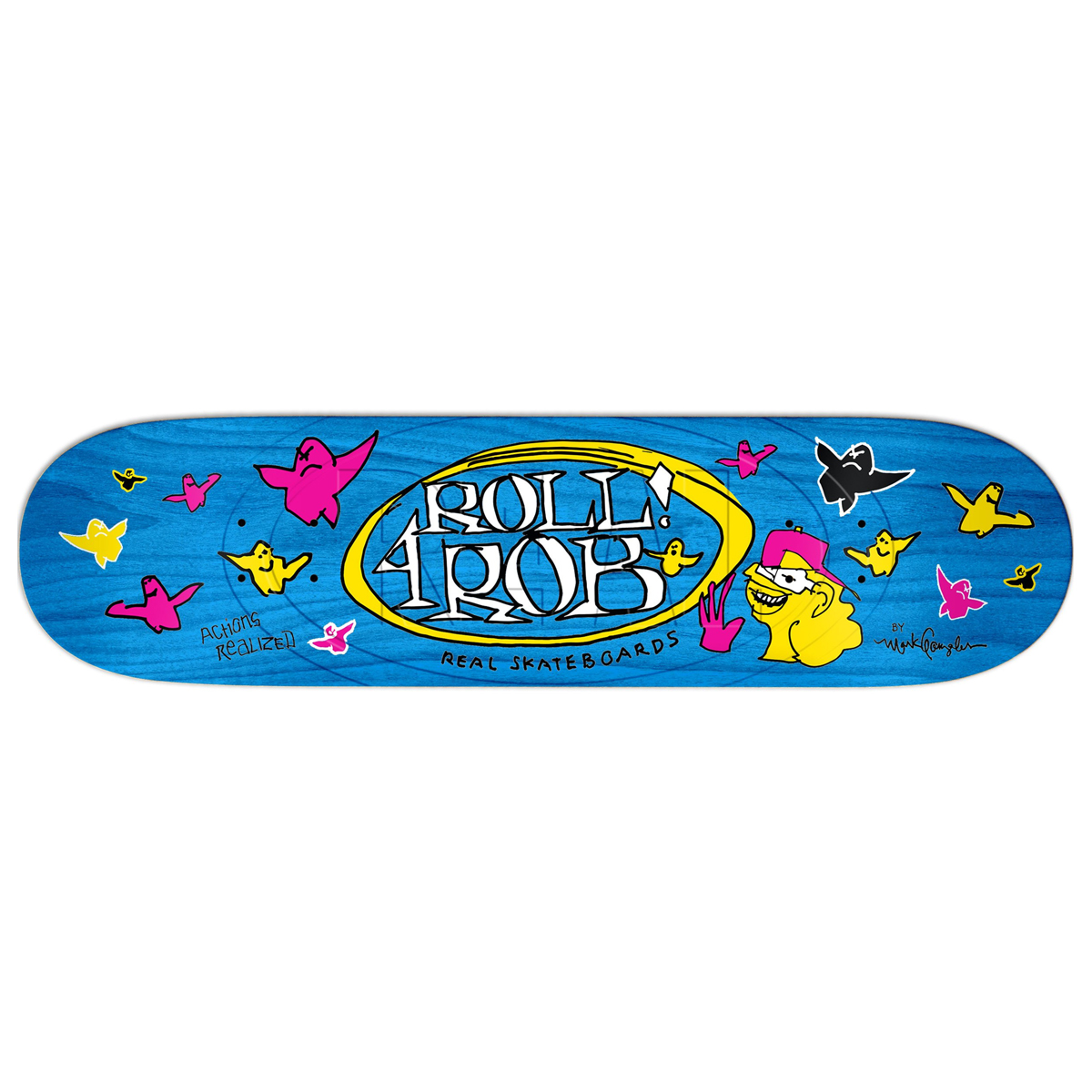 RL DECK ROLL 4 ROB GONZ II 8.5 - Click to enlarge