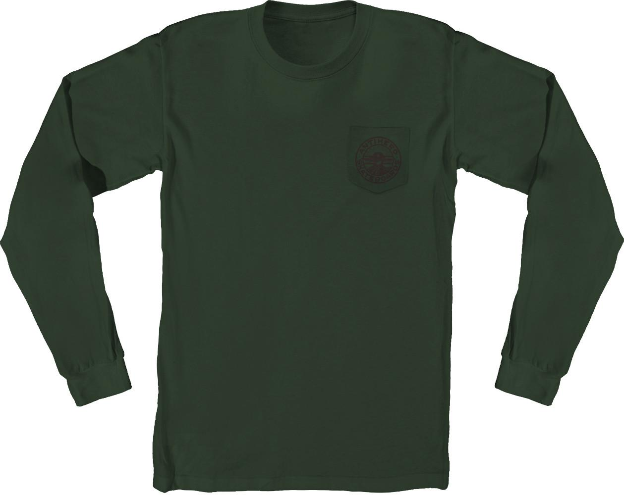 AH LS TEE STAY READY GRN/BRN L - Click to enlarge