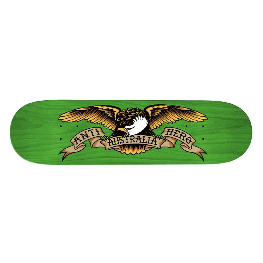 AH DECK OZ EAGLE BLACK 8.5