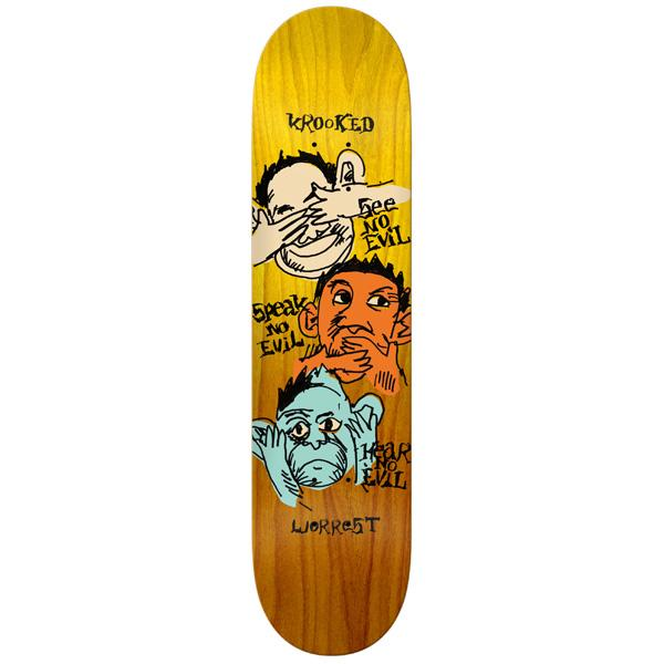KRK DECK NOSEEO WORREST 8.06 - Click to enlarge