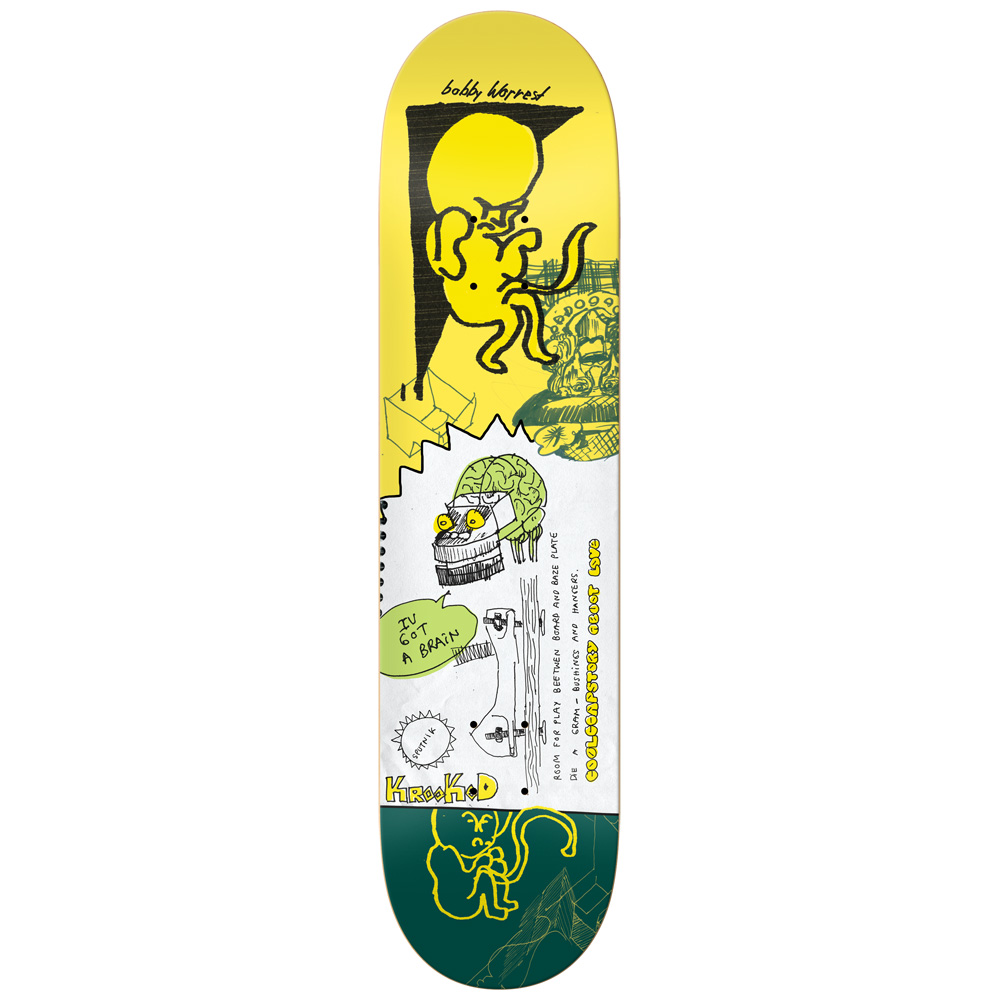 KRK DECK UNO UNKNOWN WRST 8.25 - Click to enlarge