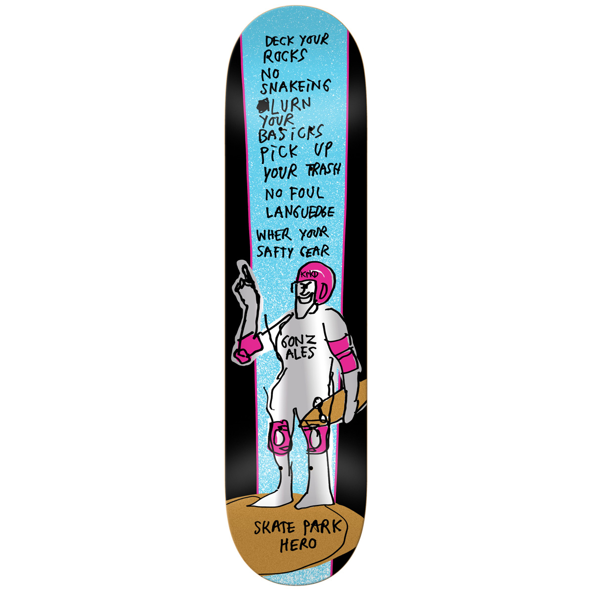 KRK DECK PARK HERO GONZ 8.12 - Click to enlarge