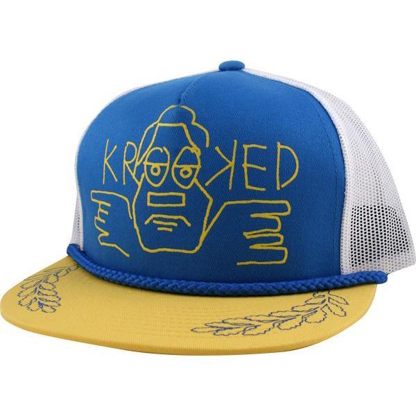 KRK CAP TRKR GONZO BLU/YEL - Click to enlarge