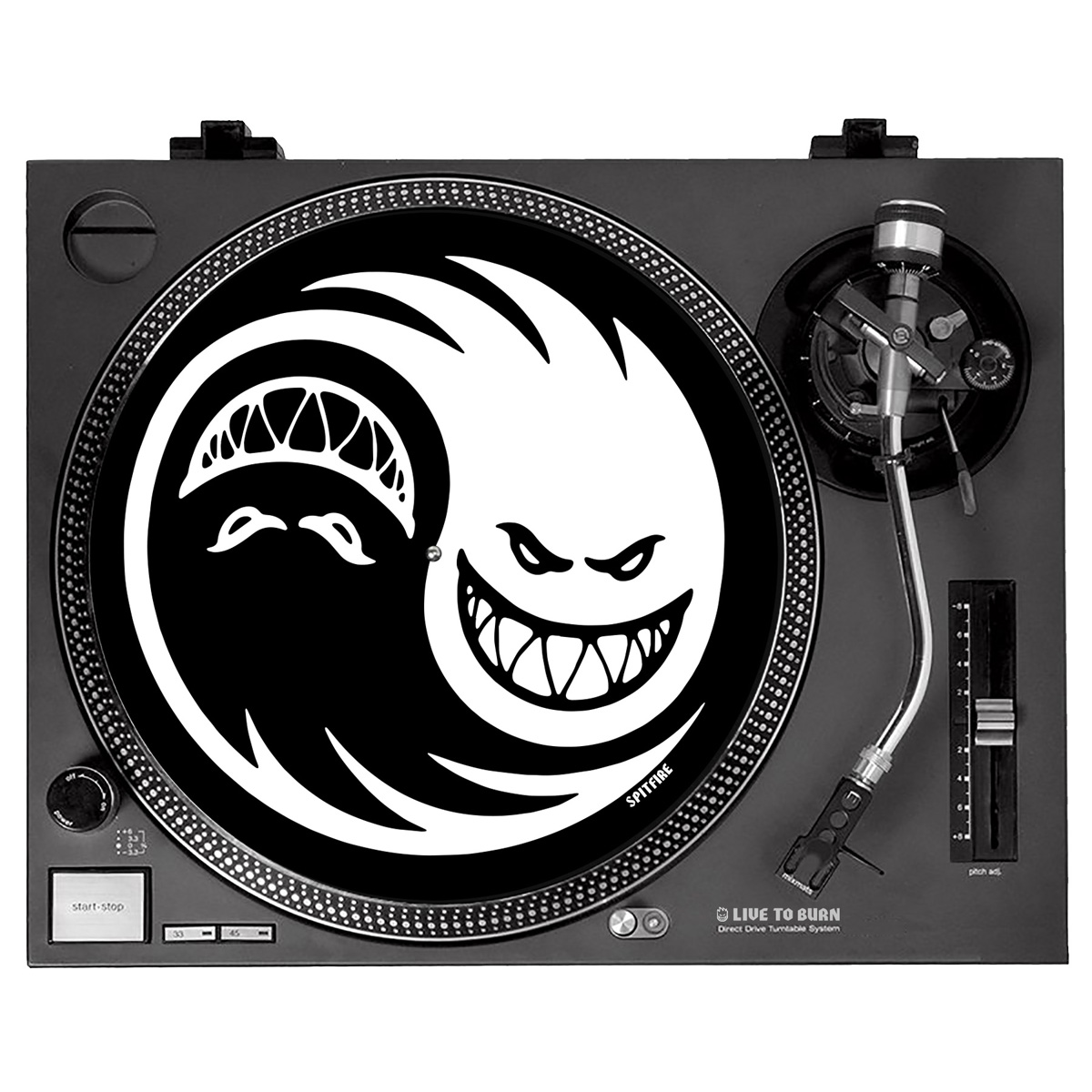 SF SLIPMAT YIN YANG BLK/WHT - Click to enlarge
