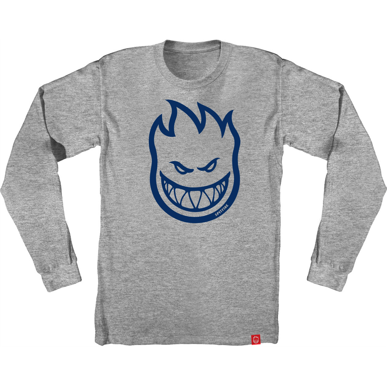 SF LS TEE BIGHEAD HTH/BLU S - Click to enlarge