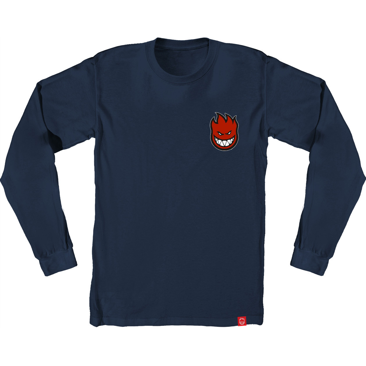 SF LS TEE LIL BIGHD FILL NVY S - Click to enlarge