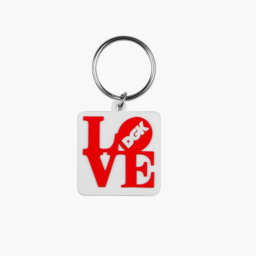 DGK KEYCHAIN CITY WHT - Click to enlarge