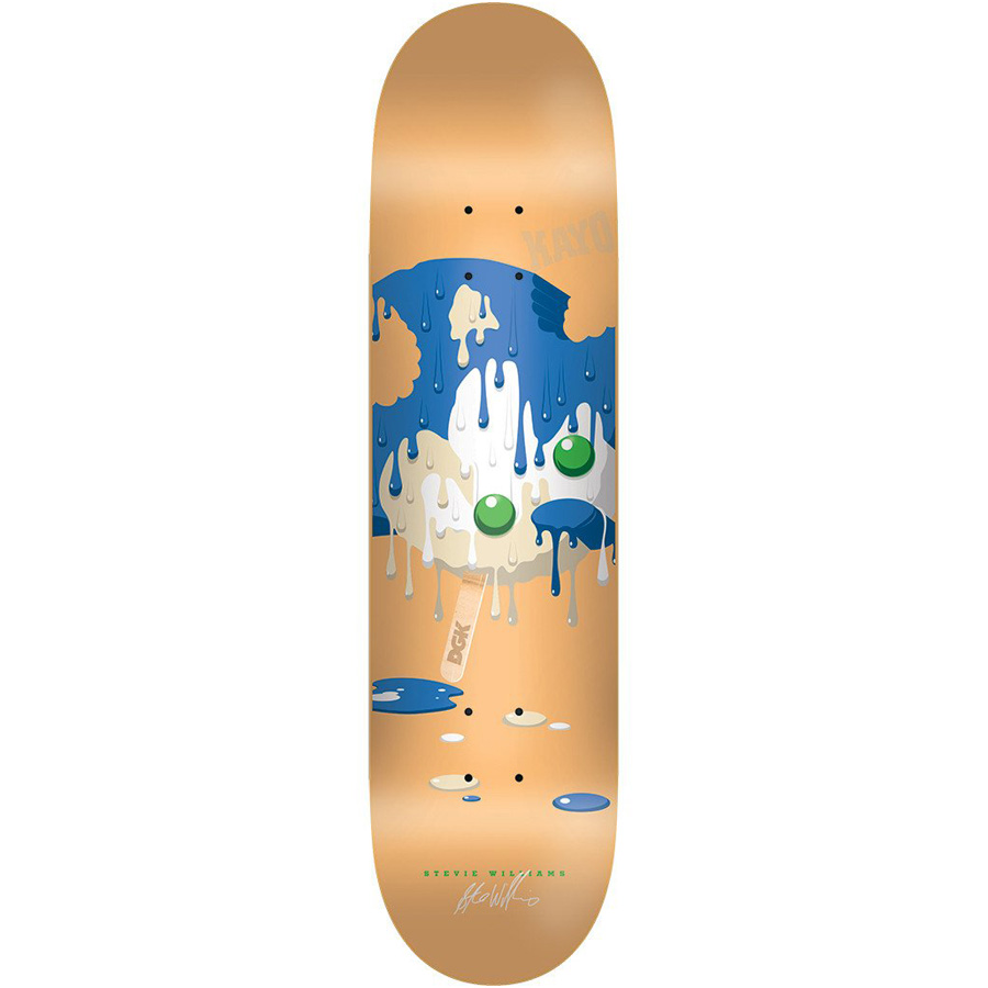 DGK DECK MELTED WILLIAMS 7.9 - Click to enlarge