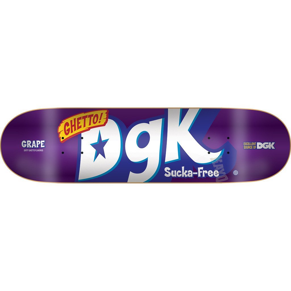 DGK DECK MIX UP PURPLE 8.25 - Click to enlarge