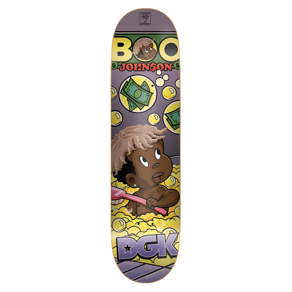 DGK DECK FROM NOTHING BOO 8.5 - Click to enlarge