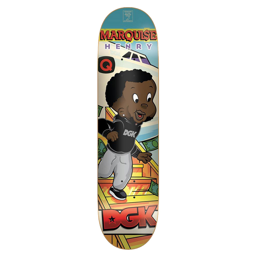 DGK DECK FROM NOTHING QSE 8.1 - Click to enlarge