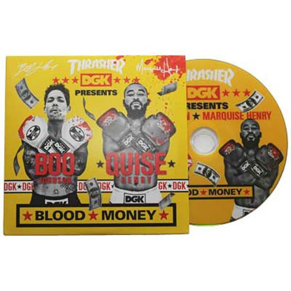 DGK DVD BLOOD MONEY - Click to enlarge