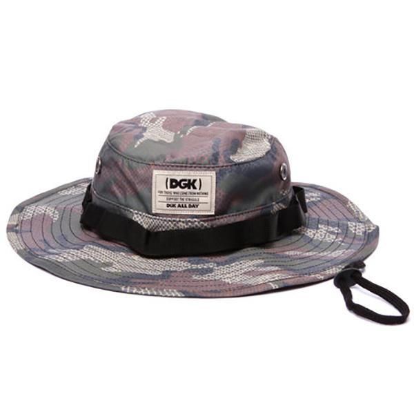 DGK HAT BOONIE COLD BLOOD CAMO - Click to enlarge