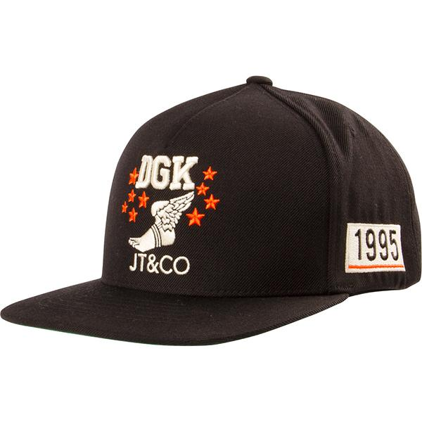 DGK CAP ADJ JT&CO TIMELESS BLK - Click to enlarge