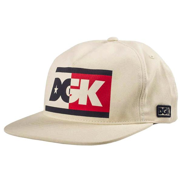 DGK CAP ADJ ANTHEM WHT - Click to enlarge