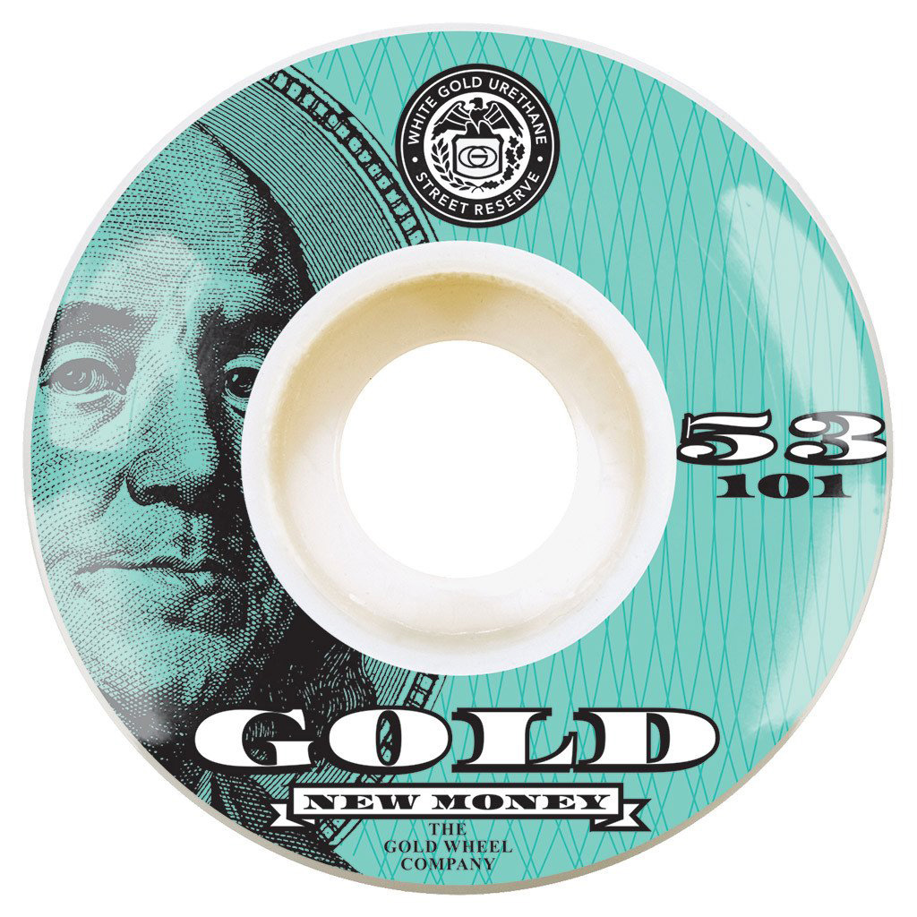 GLD WHL NEW MONEY 53MM - Click to enlarge