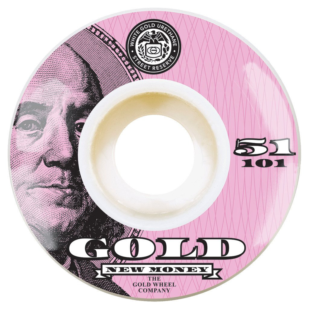 GLD WHL NEW MONEY 51MM - Click to enlarge