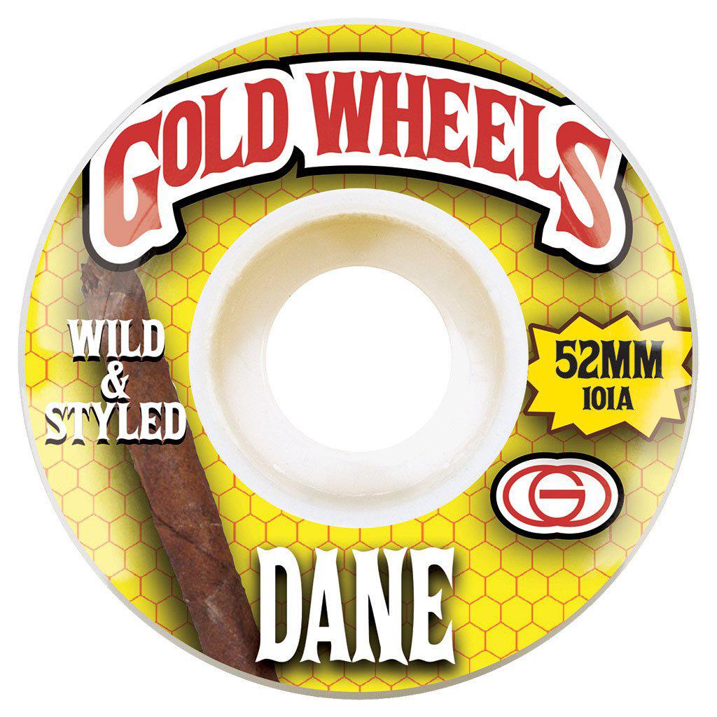 GLD WHL WOODS DANE 52MM - Click to enlarge