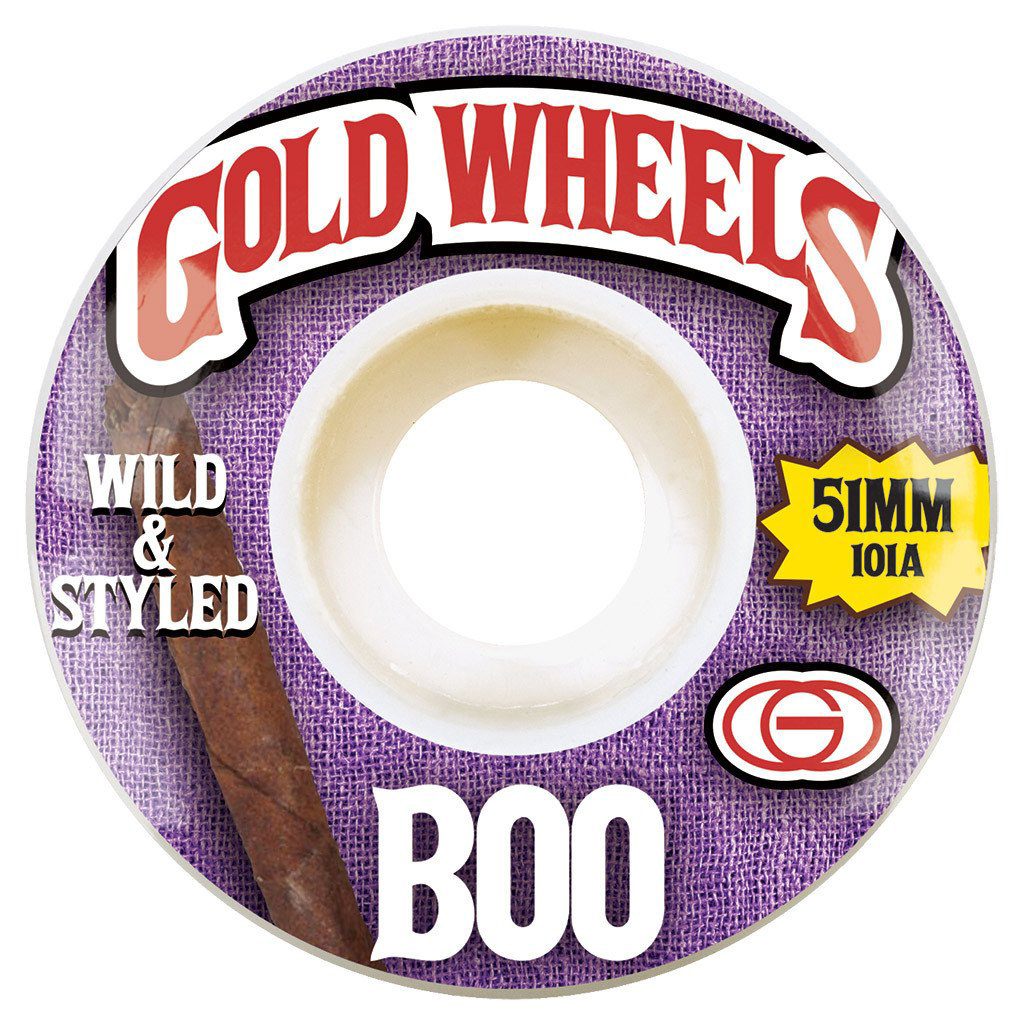 GLD WHL WOODS BOO 51MM - Click to enlarge
