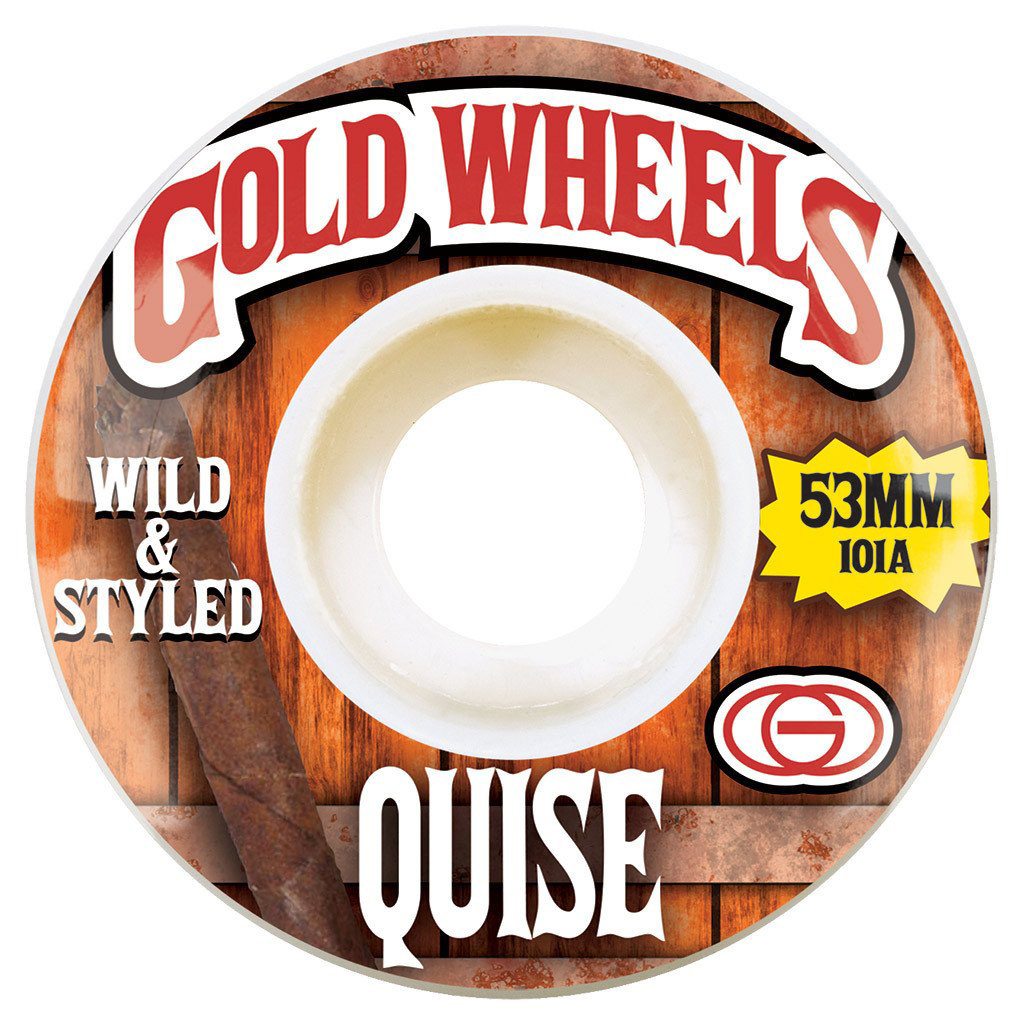 GLD WHL WOODS QUISE 53MM - Click to enlarge