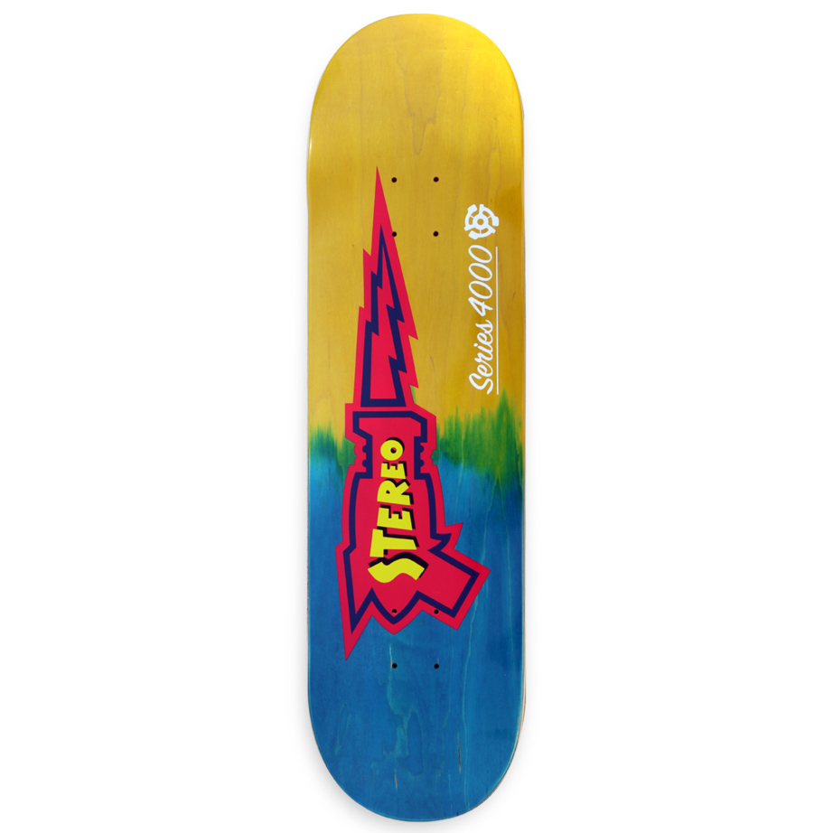 STE DECK RAYGUN BLU/YEL 8.6 - Click to enlarge