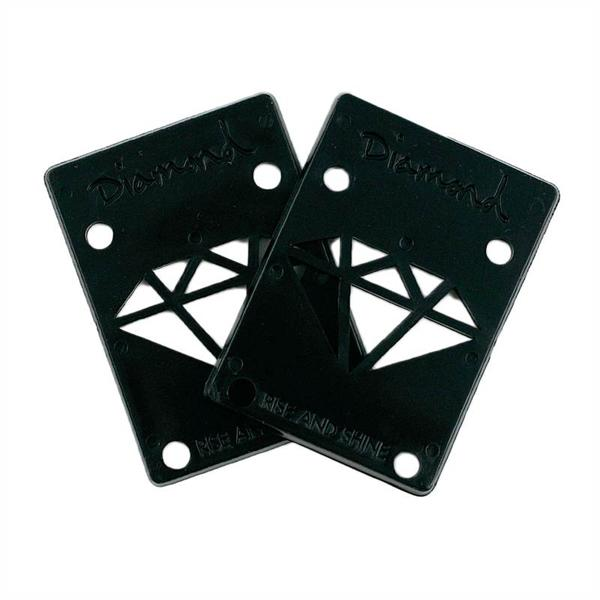 DMD RISER PADS 1/8 PAIR BLK - Click to enlarge