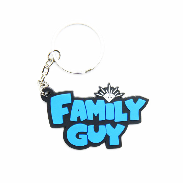 DMD KEY CHAIN FAMILY GUY BLUE - Click to enlarge