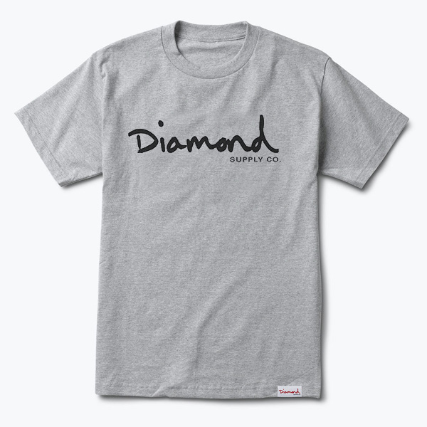 DMD TEE OG SCRIPT HTHR XL - Click to enlarge