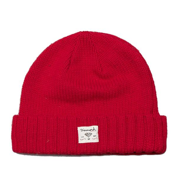 DMD BEANIE CITY CUFF RED - Click to enlarge