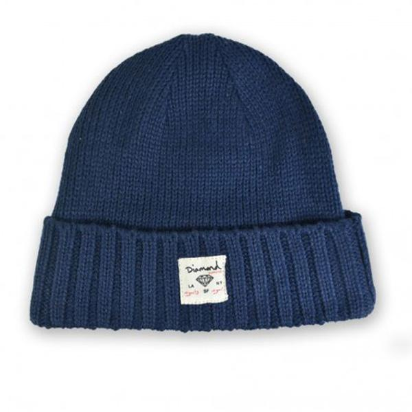 DMD BEANIE CITY CUFF NVY - Click to enlarge