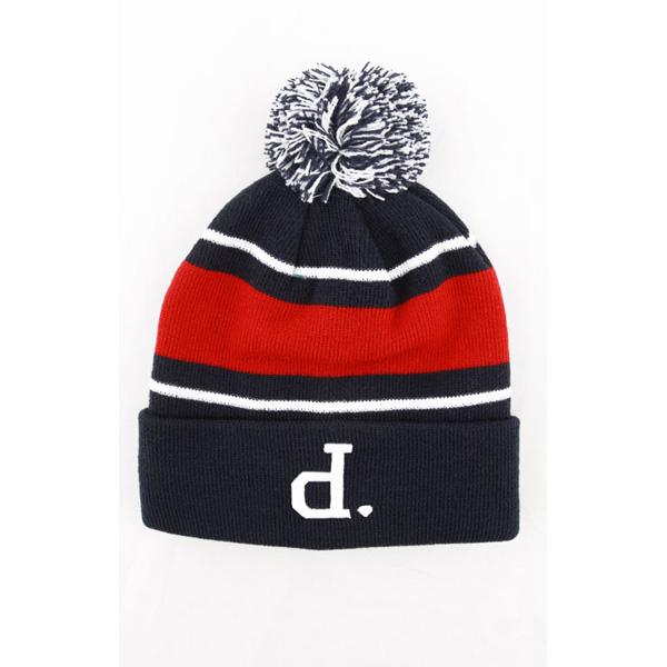 DMD BEANIE UNPOLO POM NVY - Click to enlarge