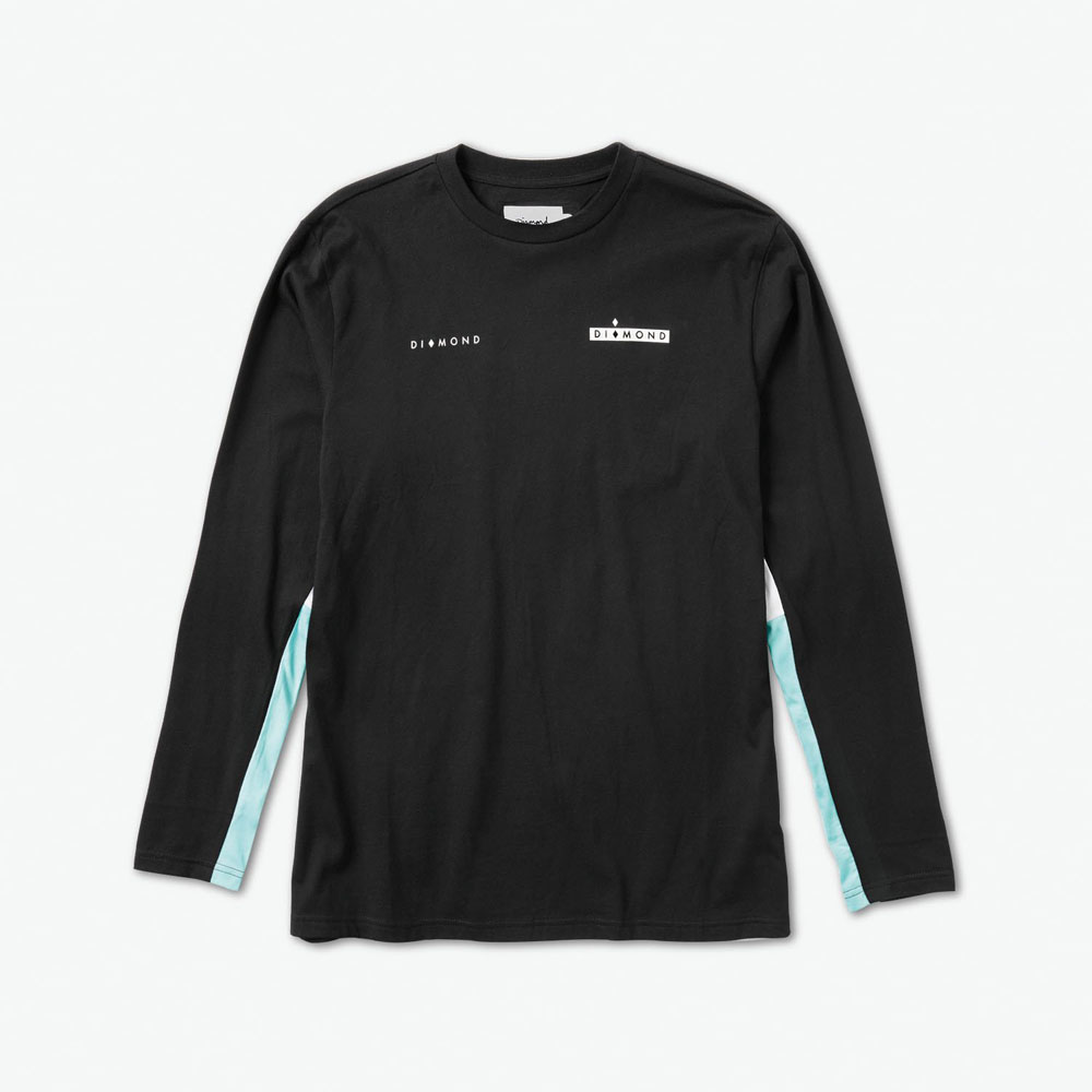 DMD LS TEE FORDHAM BLK XL - Click to enlarge