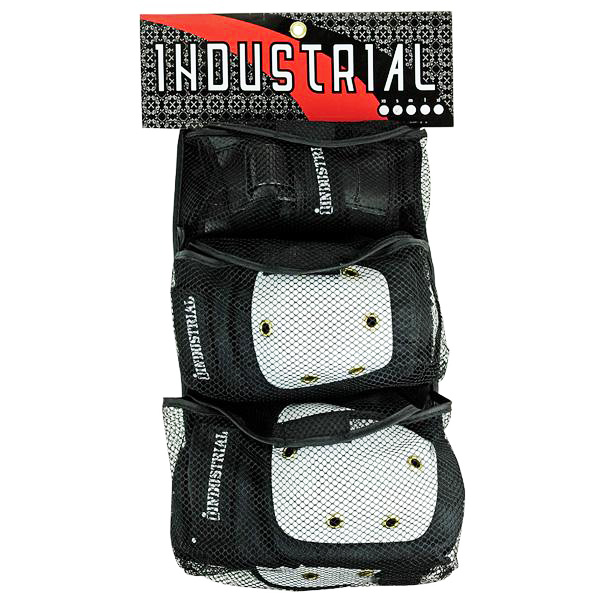 IND PAD SET 3-IN-1 WHT CAP L - Click to enlarge
