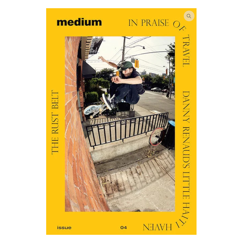 MEDIUM MAGAZINE ISSUE #4 - Click to enlarge