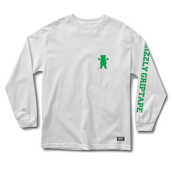 GRZ LS TEE ACADEMY WHT XL - Click to enlarge