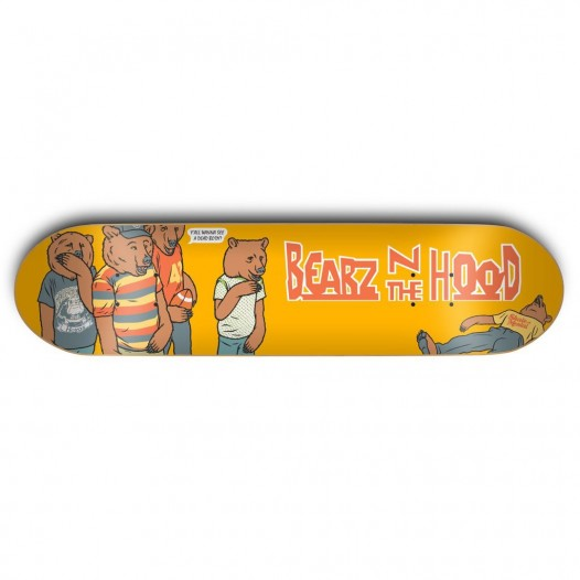 GRZ DECK BEARZ N THE HD 8.375 - Click to enlarge