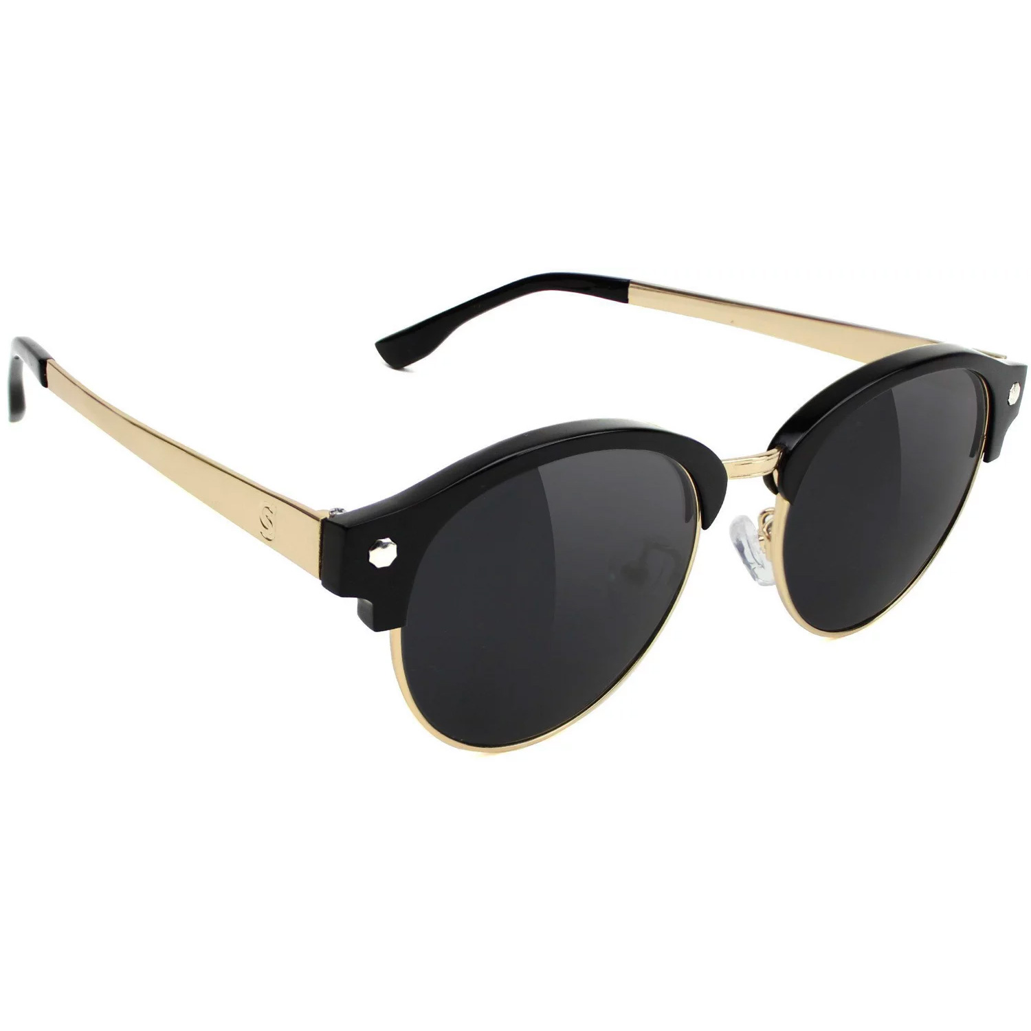 GLSY SUNNIES PROD BLK/GLD POL - Click to enlarge