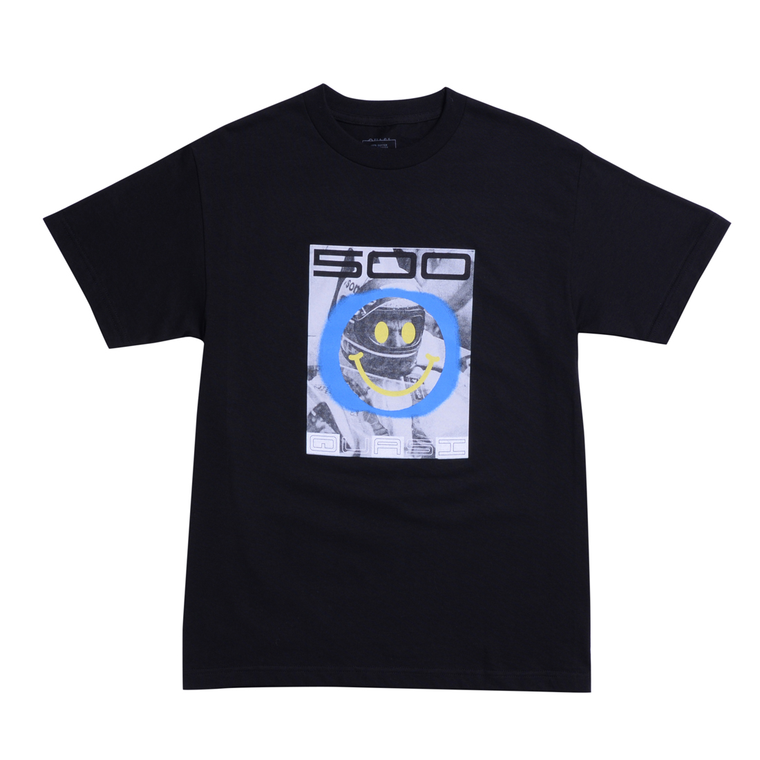 QSI TEE INDY BLK M - Click to enlarge