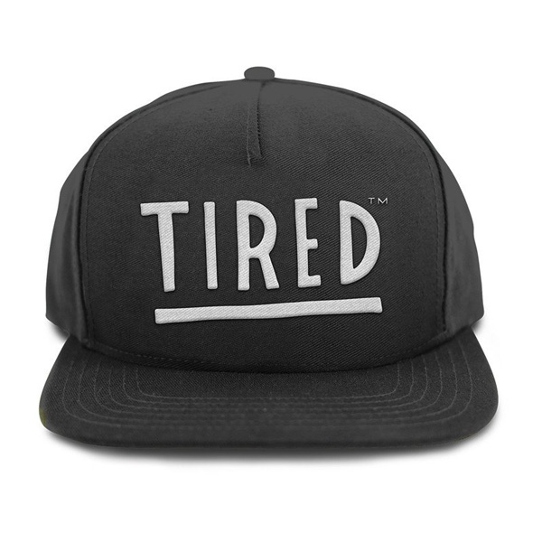 TRD CAP ADJ TIRED LOGO BLK - Click to enlarge
