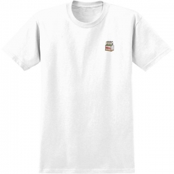 RL TEE BEER EMB WHT MD - Click for more info