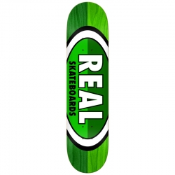 RL DECK 5050 OVAL GRN/GRN 8.06 - Click for more info