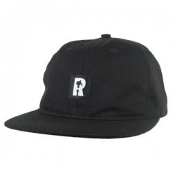 RL CAP ADJ LABEL LOWPRO BLK - Click for more info