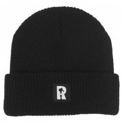 RL BEANIE LABEL CUFF BLK - Click for more info