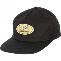 RL CAP ADJ OVAL BLK - Click for more info