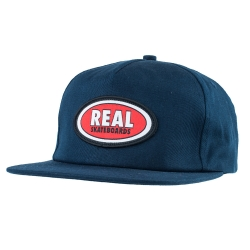 RL CAP ADJ OVAL PATCH NVY - Click for more info