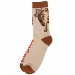 AH SOCK COW CREW HTHR - Click for more info