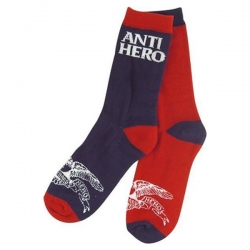 AH SOCK EAGLE BLKHERO NVY/RED - Click for more info