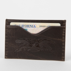 AH WALLET CARD HOLDER BRN - Click for more info