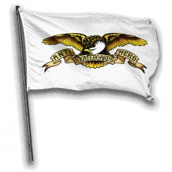 AH BANNER EAGLE WHT - Click for more info